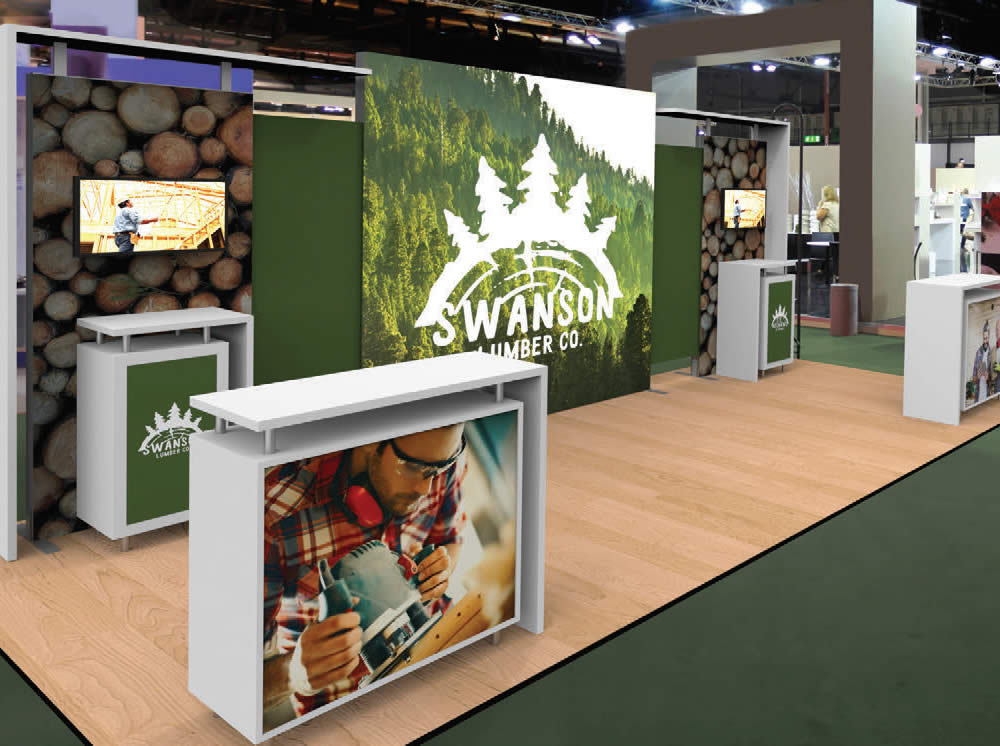 trade show display modular exhibit kits