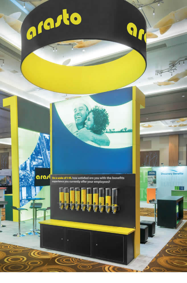 trade show formulate display structures